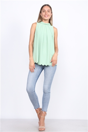 PISTACHIO GREEN TOP  TT2708