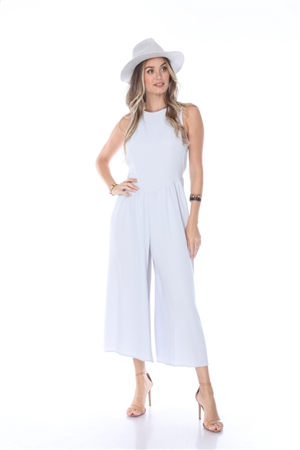 BY6534 LIGHT BLUE JUMPSUIT