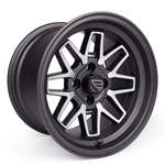 F/ZERO2 15x8.5 +15 4x114.3 SATIN ASPHALT (Set of four)