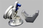 Steering Wheel Quick Tilt System with Lock - Silver
