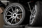Titan7 T-R10 18x10 +50 5x114.3 Satin Titanium (set of four)