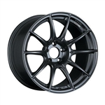 SSR GTX01 19x9.5 5x114.3 35mm Offset Flat Black Wheel (Set of Four)