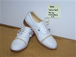 Ladies Ostrich Golf Shoe