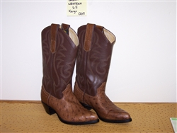 Ladies Western Ostrich Boot