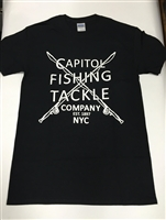 Capitol Fishing Tackle Company Famous T-Shirt Black