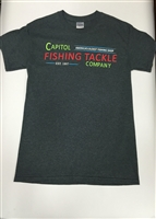 Capitol Fishing Tackle Famous Neon Sign T-Shirt Gray