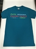 Capitol Fishing Tackle Company Famous Neon Sign T-Shirt Teal
