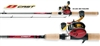 Daiwa D-Cast Pre-Mounted Freshwater Baitcasting Combos