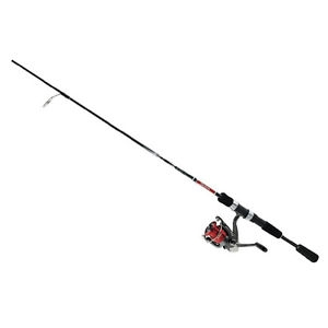 Daiwa D-Shock Pre-Mounted DSH-4BI Reel and Graphite Rod Combos