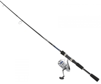 Daiwa D-Shock Pre-Mounted DSH-B Reel and Fiberglass Rod Combos