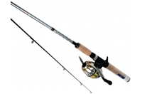 Daiwa D-Turbo Pre-Mounted Spincast DT-3BI Reel and Graphite Rod Combos