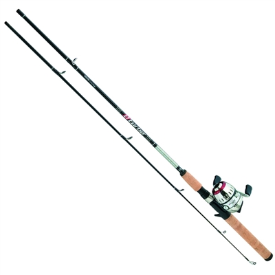 Daiwa D-Turbo Pre-Mounted Spincast DT-B Reel and Fiberglass Rod Combos