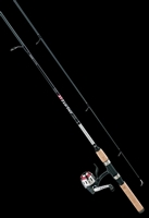 Daiwa D-Turbo Pre-Mounted Underspin DT40U-B Reel and Fiberglass Rod Combos