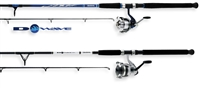 Daiwa D-Wave Pre-Mounted DWA-B Reel and Fiberglass Spinning Rod Combos
