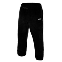 Bering Sea Fleece Black Pants