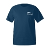 Grundens Eat Fish Blue Dusk T-Shirts