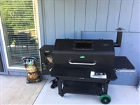 Green Mountain Grill Jim Bowie Choice Pellet Grill