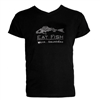 Grundens Bling T-Shirt Eat Fish Black