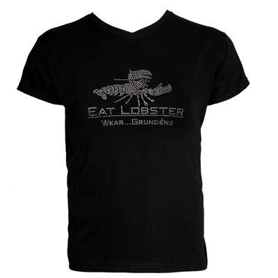 Grundens Bling T-Shirt Eat Lobster Black