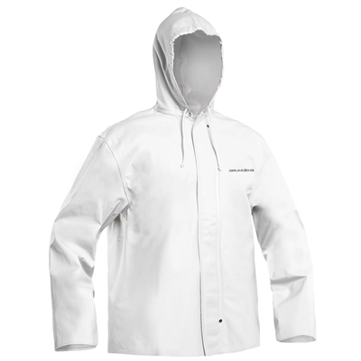 Grundens Clipper 82 Hooded Jacket White