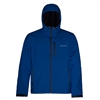 Grundens Gage Midway Hooded Softshell Indigo Blue