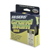 Hi-Seas Grand Slam Braid 150 Yard Spool - Green