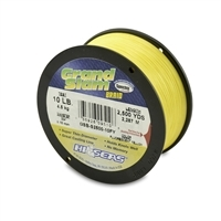 Hi-Seas Grand Slam Braid 2500 Yard Spool - Fluorescent Yellow