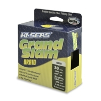 Hi-Seas Grand Slam Braid 300 Yard Spool - Green