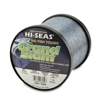 Hi-Seas Grand Slam Monofilament Line - Smoke Blue 1 Lb. Spool