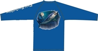 Bimini Bay Performance Shirt Mako Shark