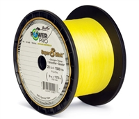 Power Pro Super 8 Slick 1500 Yards Hi-Vis Yellow
