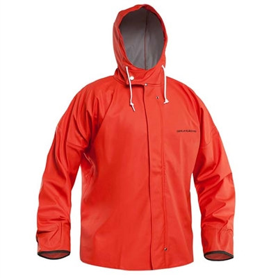 Grundens Petrus HD40 Hooded Parka Orange