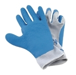 Sea Grip Premium Non-Slip Light Blue White Gloves Extra Large