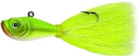 SPRO Prime Bucktail Jig Crazy Chartreues