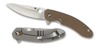 Spyderco Southard Folder Brown Series