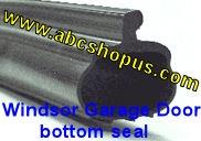 Windsor P Bulb Garage Door Bottom Weather Seal 16