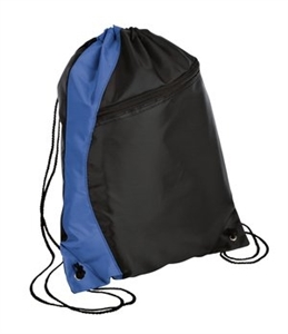drawstring backpack royal/black