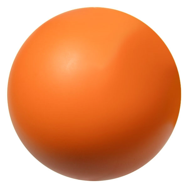 "orange foam hockey ball 2.75"" - use this indoors instead of a hard hockey puck"