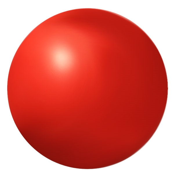 "Ball - red foam 2.75"" - use this indoors instead of a hard hockey puck"