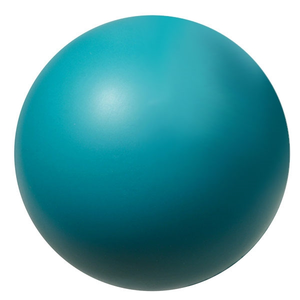 "teal foam hockey ball 2.75"" - use this indoors instead of a hard hockey puck"