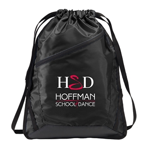 Zip-It Cinch Pack - black | Hoffman Dance Studio