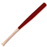 brick red barrel mini baseball bat