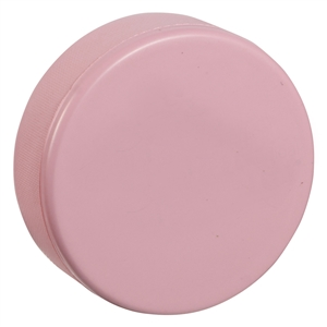 pink hockey puck foam hockey puck blue hockey puck