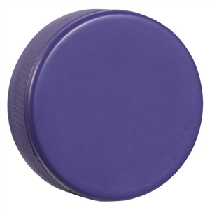 purple hockey puck foam hockey puck blue hockey puck