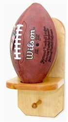 "Football Holder With one 3"" peg"