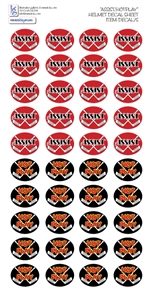 hockey helmet decal sheets for hockey helmets