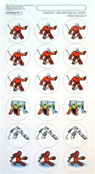 Get your Goalie helmet decals on this fun sheet.