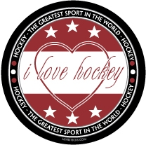 i love hockey - world's favorite sport