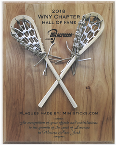 lacrosse plaque lacrosse award personalized