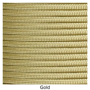 Gold lacrosse string to put on your lacrosse stick